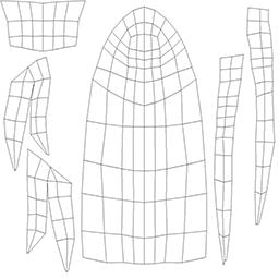 Metasequoia 4の便利な機能紹介 5 画像マッピングを使った表現とペイント機能 Metaseq Net